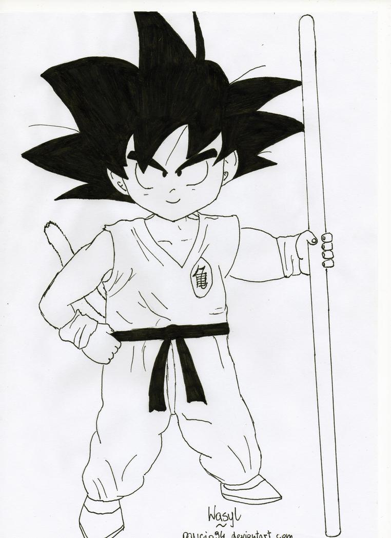 Kid Goku by Pawcio94