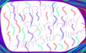 Happy Birthday giantstorylover