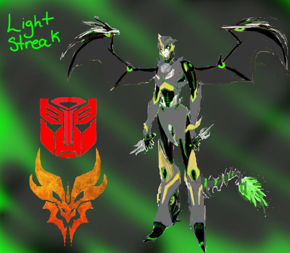 Lightstreak my OC (UPDATE) by breyerloversunite