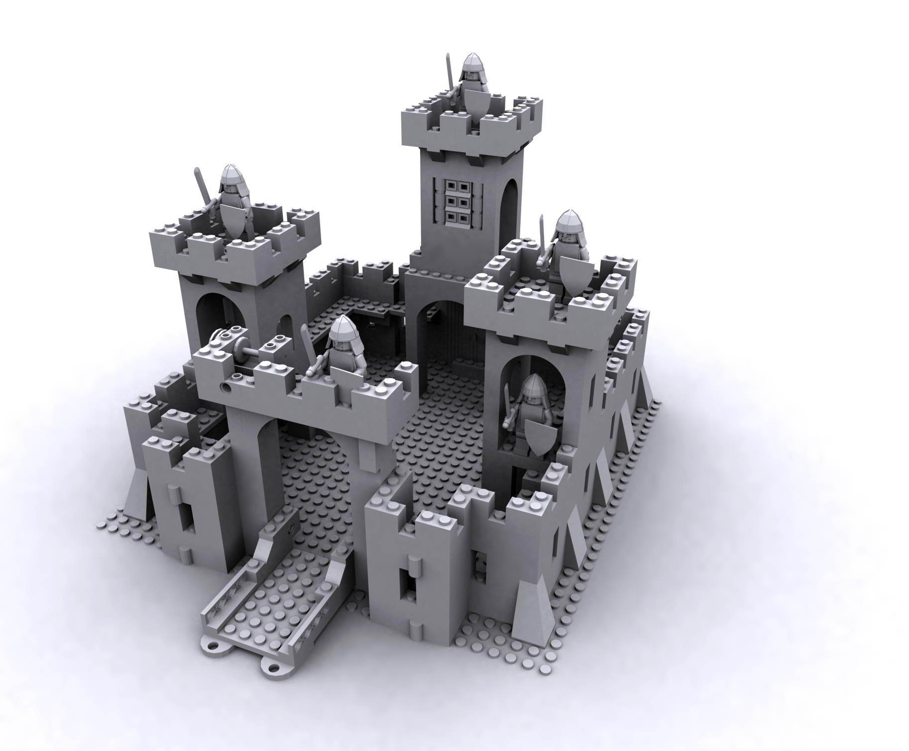 Lego Castle 375 6075 Wip By D100763 On Deviantart