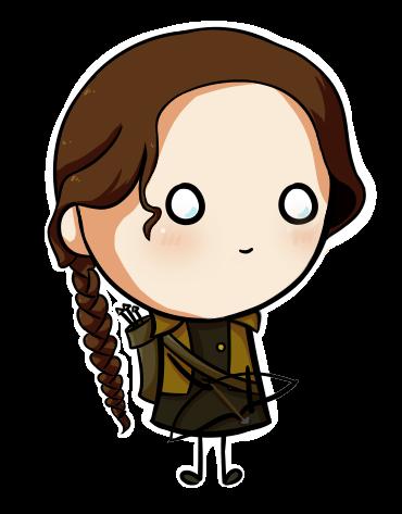 Katniss Everdeen by Skroalla