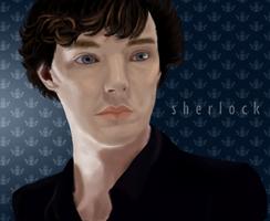 Just Another Sherlock Portrait