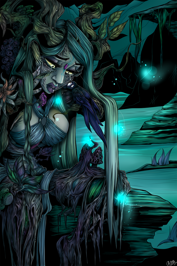 Lady of the earth. by FurKingHell