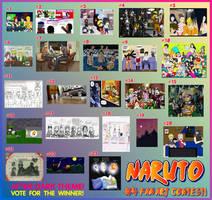 Naruto Fourth Fan Art Contest