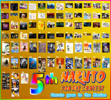 Naruto 5th Fan Art Contest