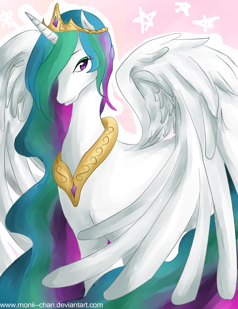 MLP: Princess Celestia by Monii--Chan