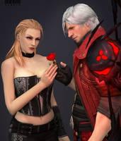 Devil Rose by Dampir07