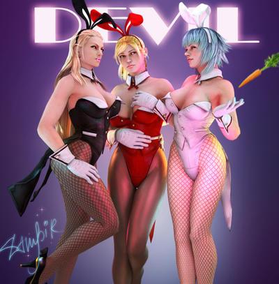 Bunnies dmc ladys