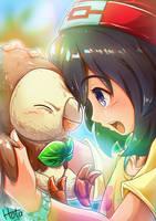 With my Partner by HotaruKiyo