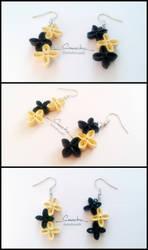 Paper Quilling Earrings 09 by smreko