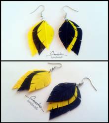 Paper Quilling Earrings 20 by smreko