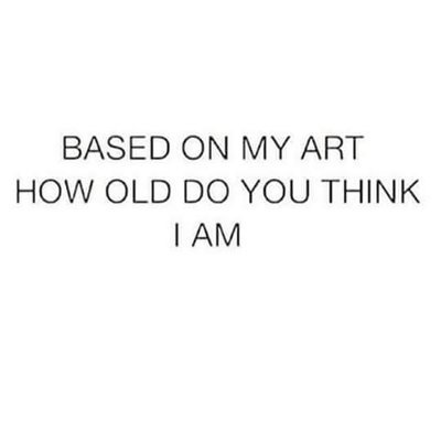 How old do you think I am based on my art? by ColorfulSketchings