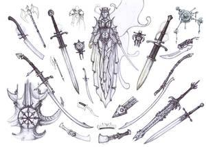 fantasy collage
