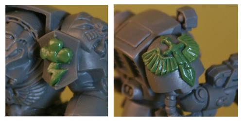 deathwing terminator detail