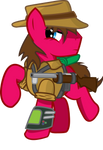 Cherry 'Deadshot' Pie [Commission]
