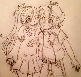 Pines Twins by PastelDancer