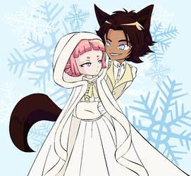 Snowfall by PastelDancer