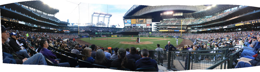 Safeco Field Panorama by Sp3nc3r-H1nds