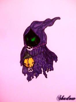 Purple Poe from legend of zelda
