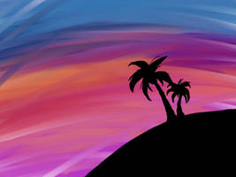 COLORFUL SKY by theworstoneatthis