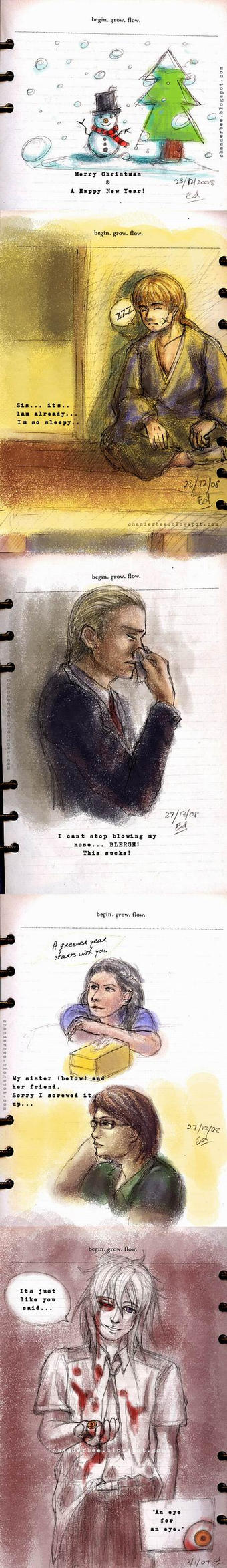 + sketch book 01 + by asukakanzaki