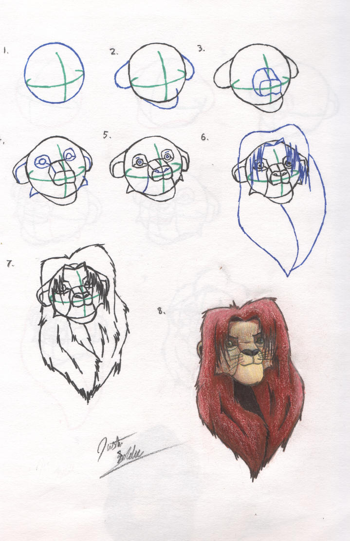 Uncategorized How To Draw Simba And Nala how to draw simba by jablionel23 on deviantart jablionel23