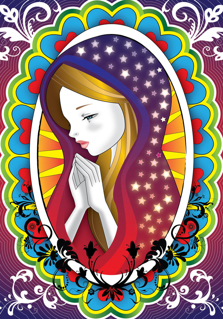Virgin Mary 2 by lajuls