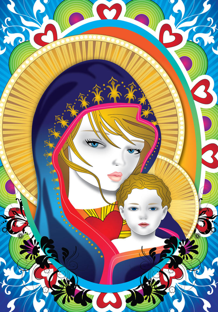 Virgin Mary 5 by lajuls