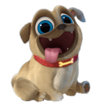 Puppy Dog Pals Rolly PNG