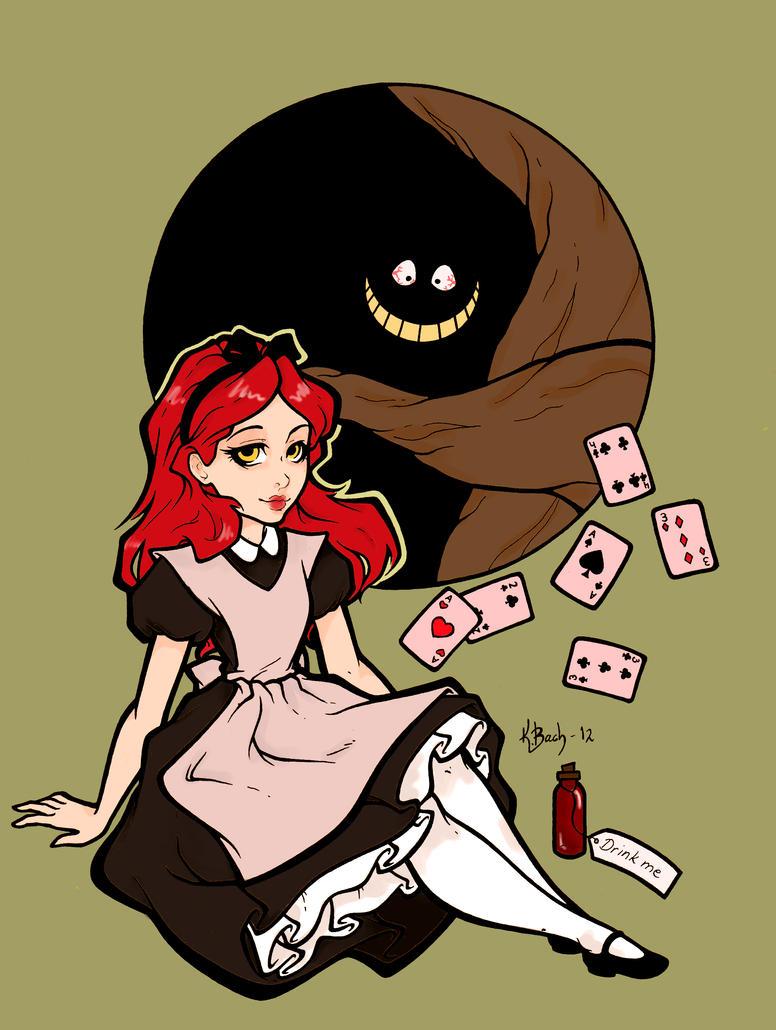 Darker Alice by yourmomscat