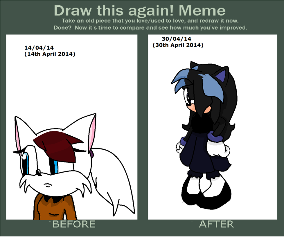 how to draw a sonic oc