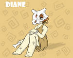 Diane the Cubone-Gijinka