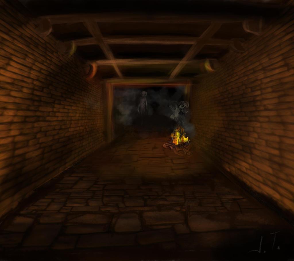 Dnd Concept Ghost by IreneTheochari