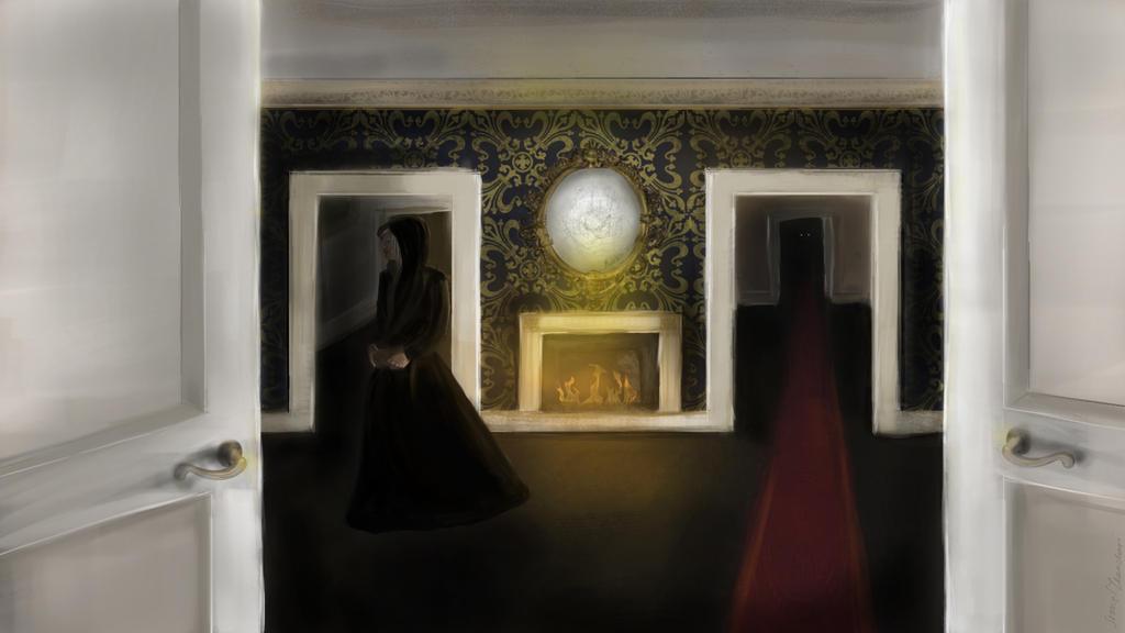 The Duchess of Plaisance  19th century by IreneTheochari