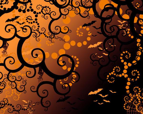 Halloween Ghosts by vladstudio on DeviantArt