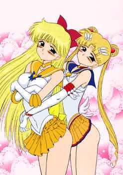 Usagi and Mina