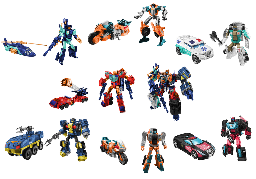 G2 Protectobots Digibash by Air-Hammer