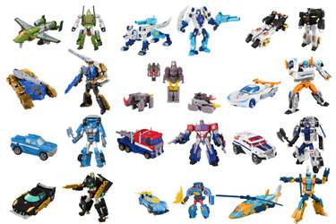 Cybertron Autobots Digibash