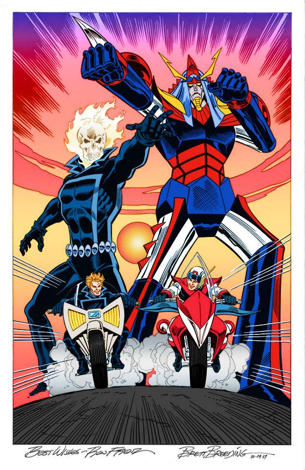 Ghost Rider vs. Shogun Warrior