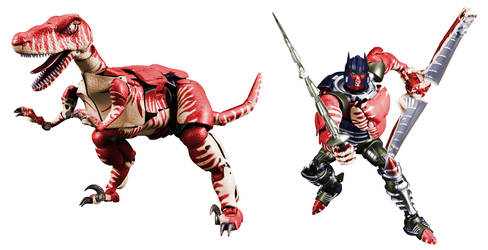 Fox Kids Masterpiece Dinobot Digibash by Air-Hammer