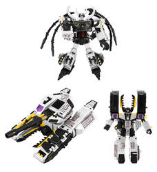 Dreamscape Unicron and Megatron Digibash by Air-Hammer