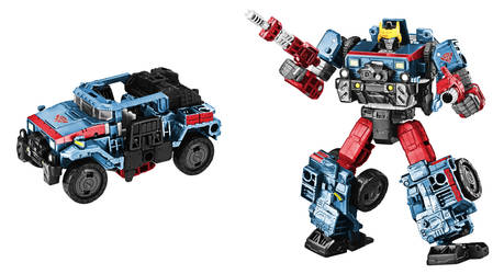 Cybertron Defense Hot Shot Digibash by Air-Hammer