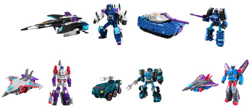 Masterforce Decepticons Digibash by Air-Hammer