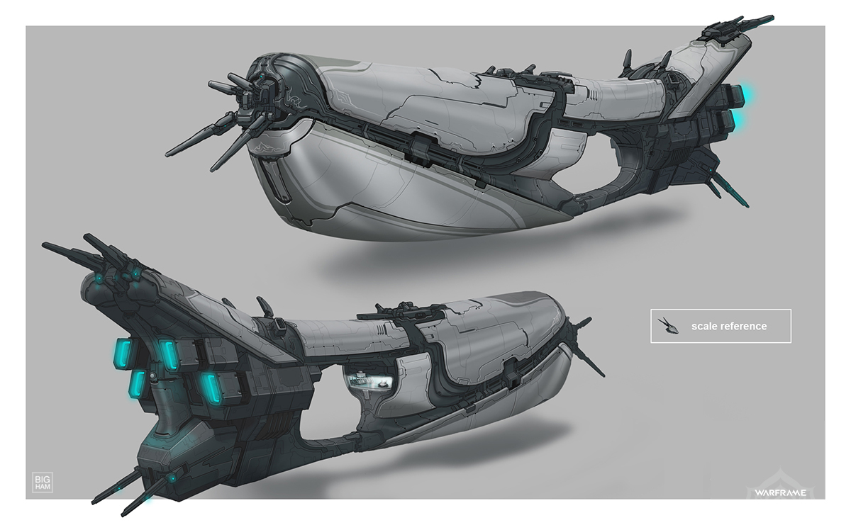 Warframe: Tenno Cruiser by SBigham