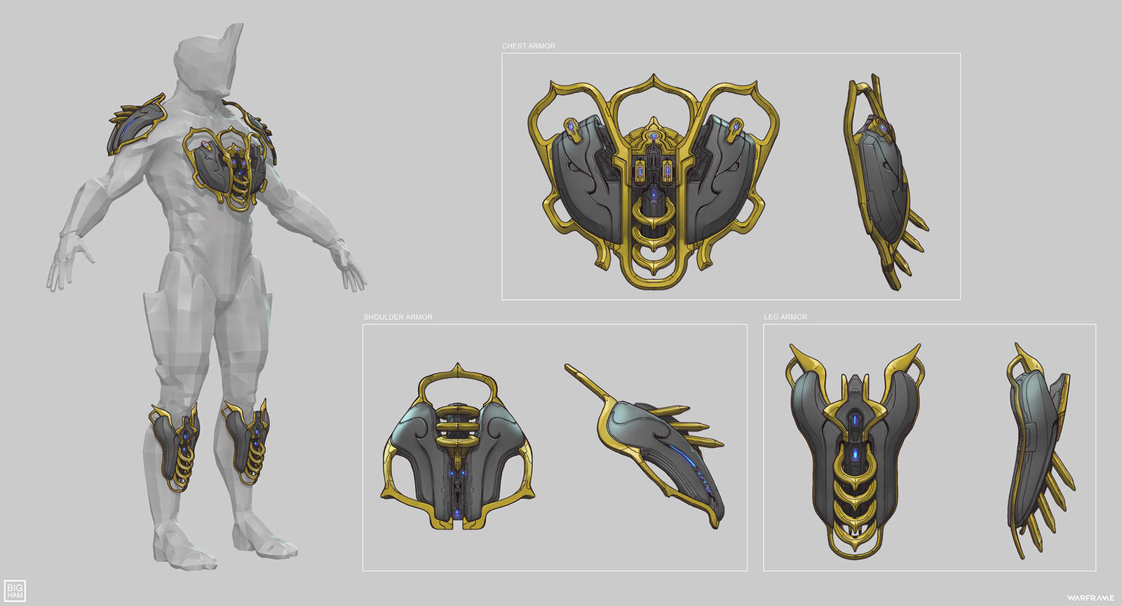 Warframe: Atavist Prime Armor by SBigham on DeviantArt