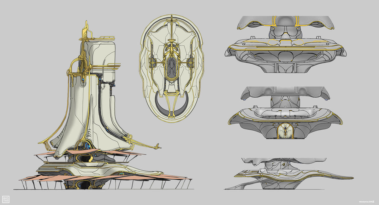 Warframe: Cetus Marketplace by SBigham