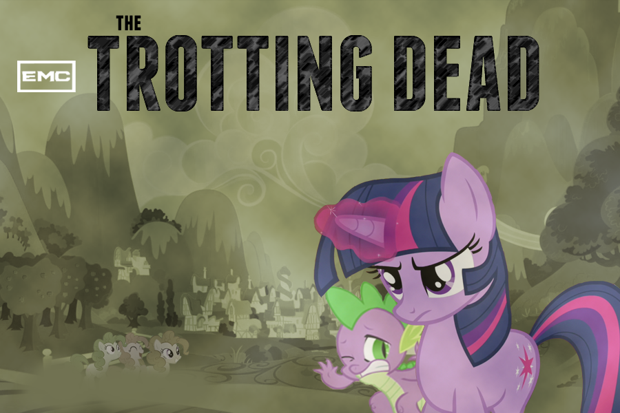 The Trotting Dead by TheAveryChu
