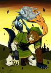 Twilight Realm - Midna and Link