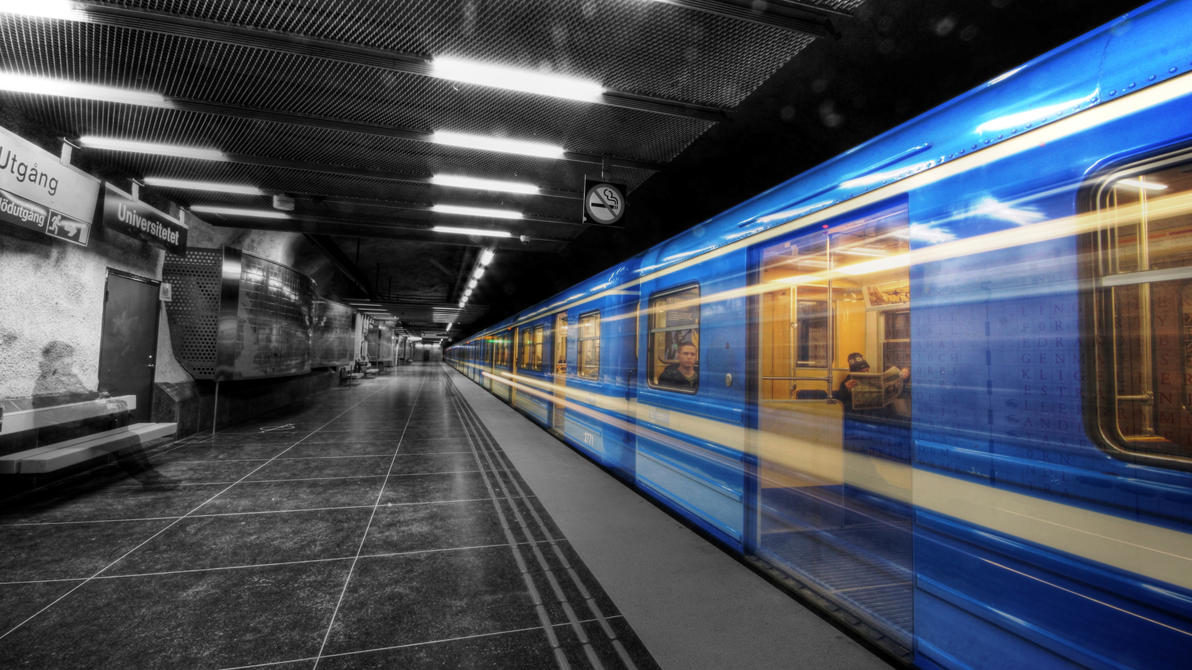 Stockholm Metro by lucat25