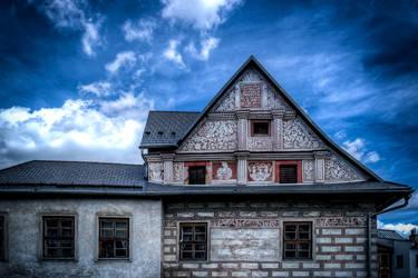 ... Fassade des alten Hauses I. ...